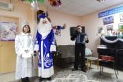 "Концерт ""Новогодний серпантин"" в доме-интернате"