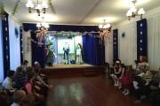 Новогоднее представление в школе-интернате
