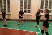 Матчевая встреча по волейболу с командами СОШ №10